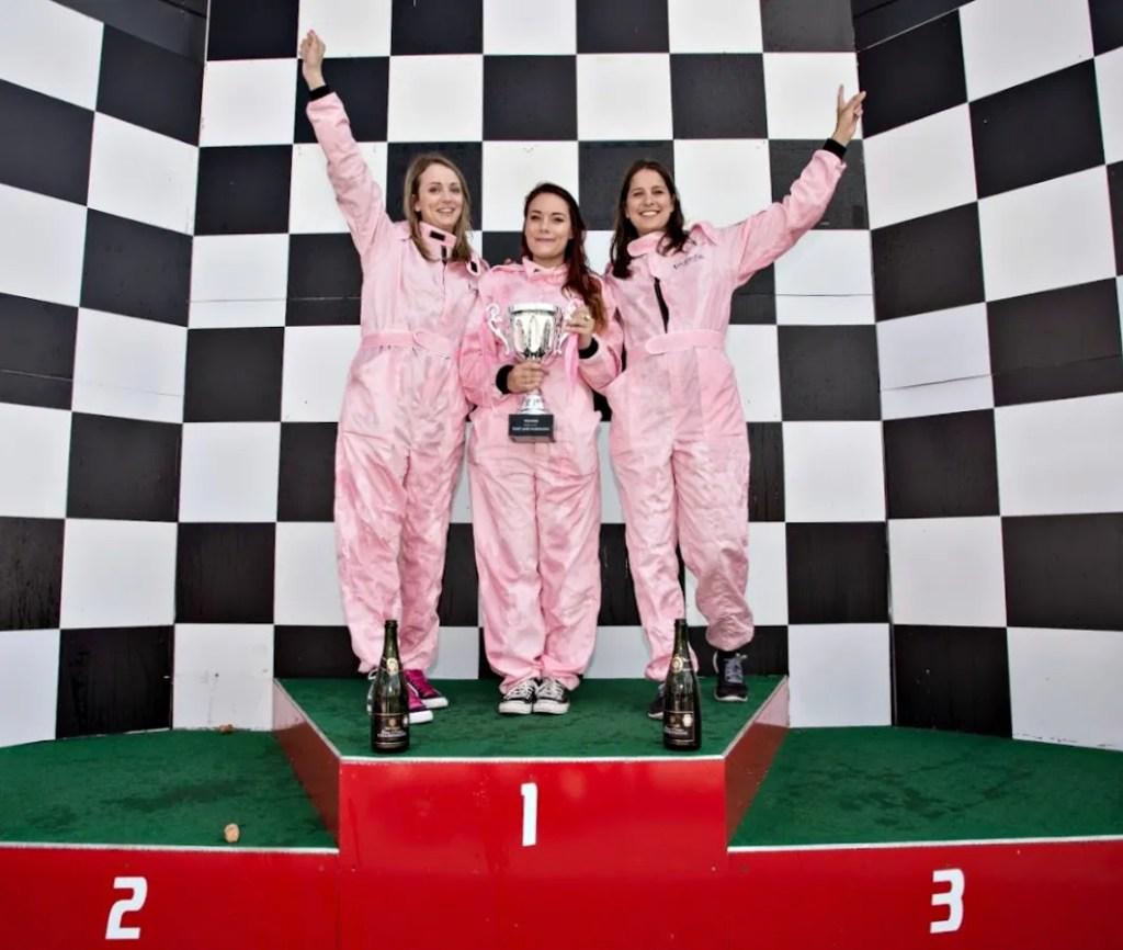 Benefit Citroen Blogger Race at Silverstone Racecourse