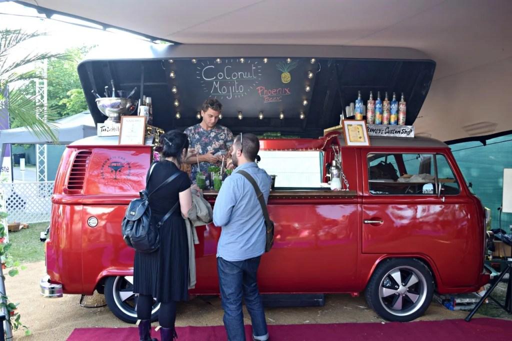 Taste of London Mahiki Van