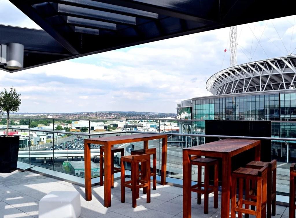 Hilton London Wembley SkyBar 9 View