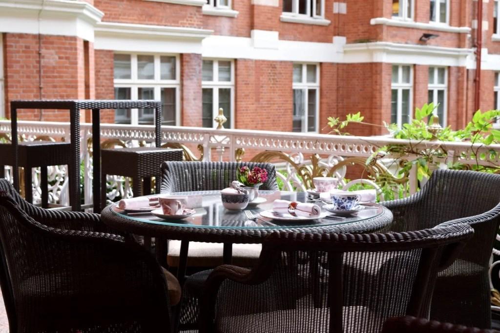 St Ermin's Hotel bar terrace