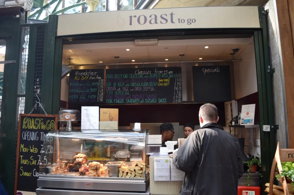 Roast Borough Market London | The LDN Diaries