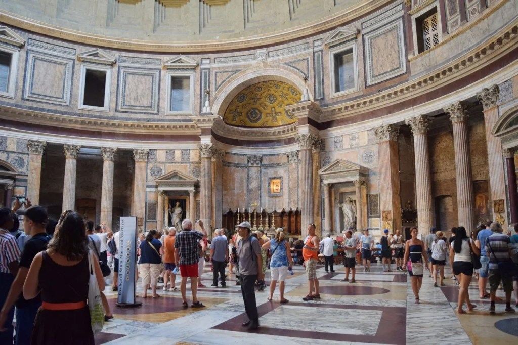 Inside the Pantheon Rome   Places To Visit In Rome
