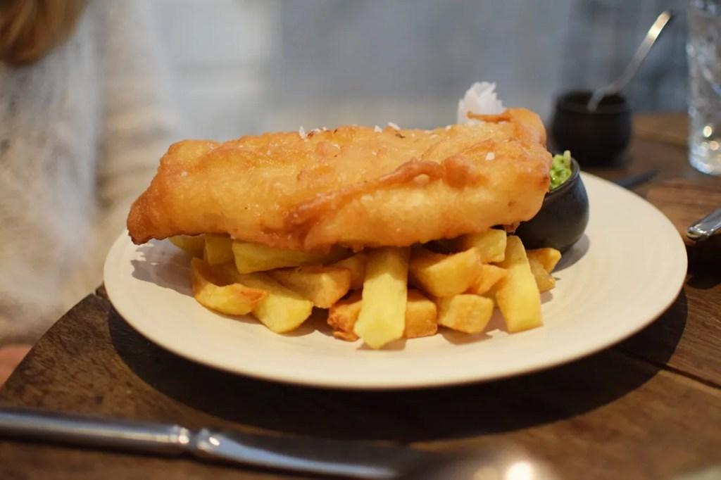 Haddock & Chips Mews of Mayfair London - The LDN Diaries