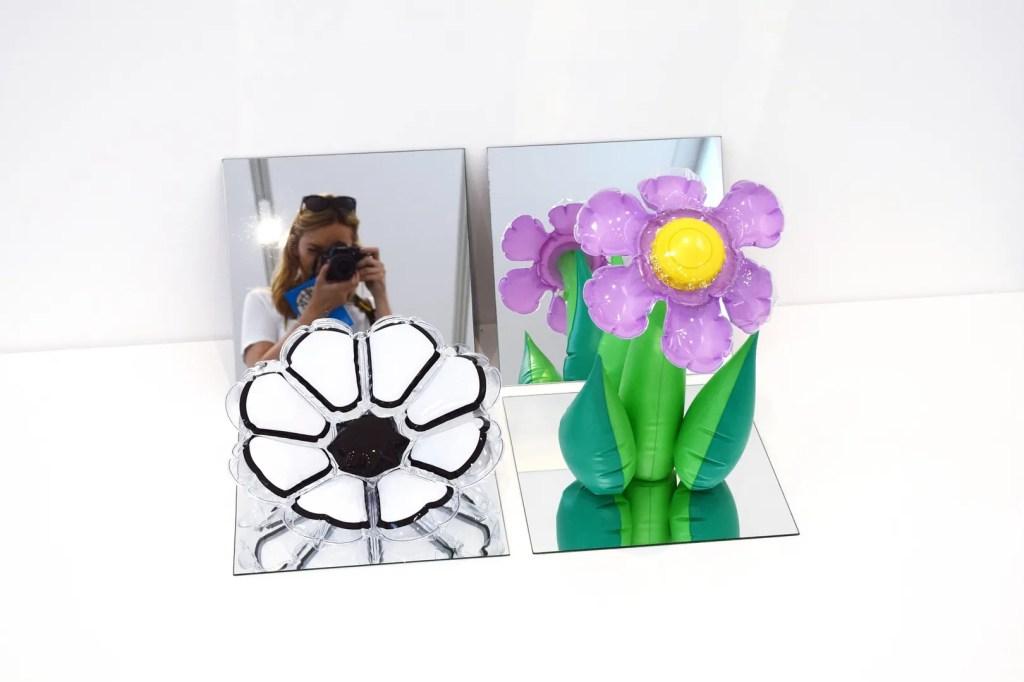 Jeff Koons Inflatable Flowers