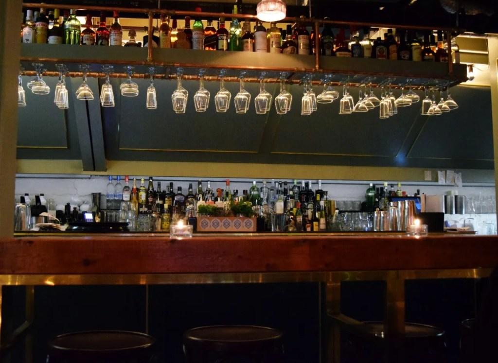 Bar at Dirty Bones