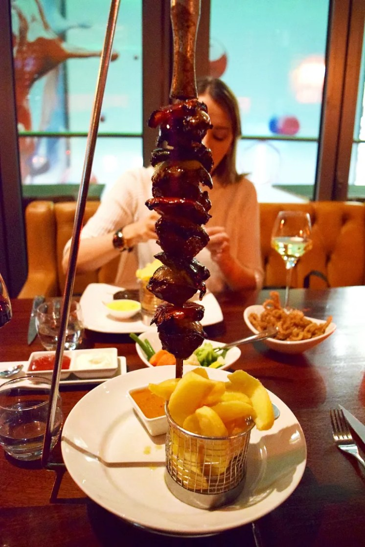 Beef Skewer The Meat Co Westfield Review - London Lifestyle Blog
