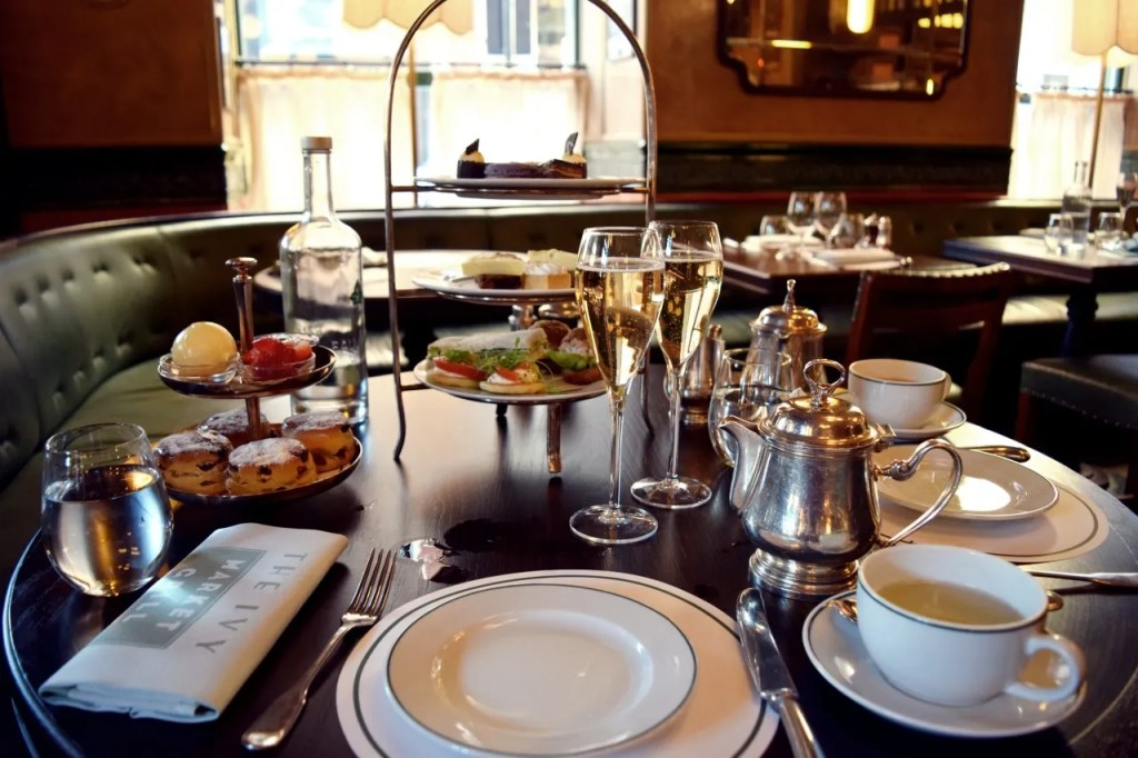 Afternoon tea at The Ivy Market Grill Covent Garden   The LDN Diaries