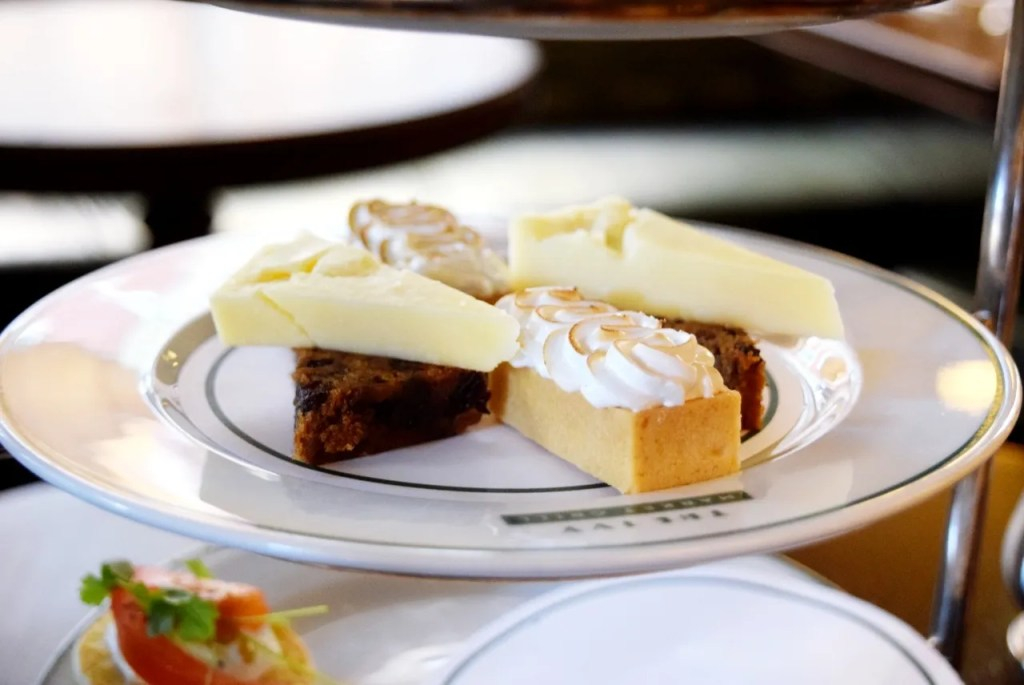 Fruit cake and cheddar The Ivy Market Grill