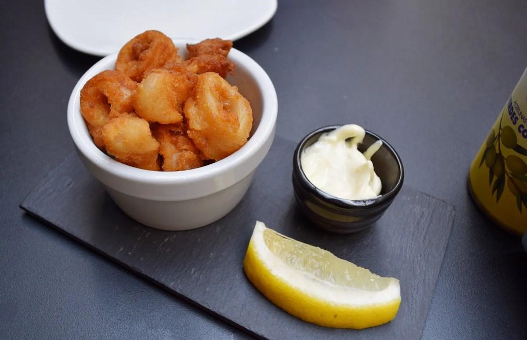 Crispy Baby Squid Camino Bankside Review