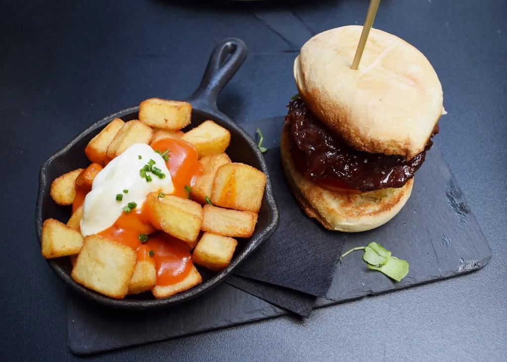 Mini iberico burger camino bankside review