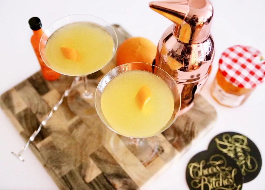 Breakfast Marmalade Martinis
