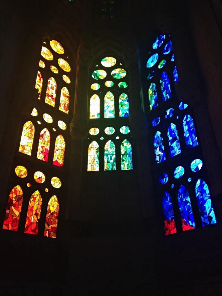 Stained Glass Windows Sagrada Familia Barcelona