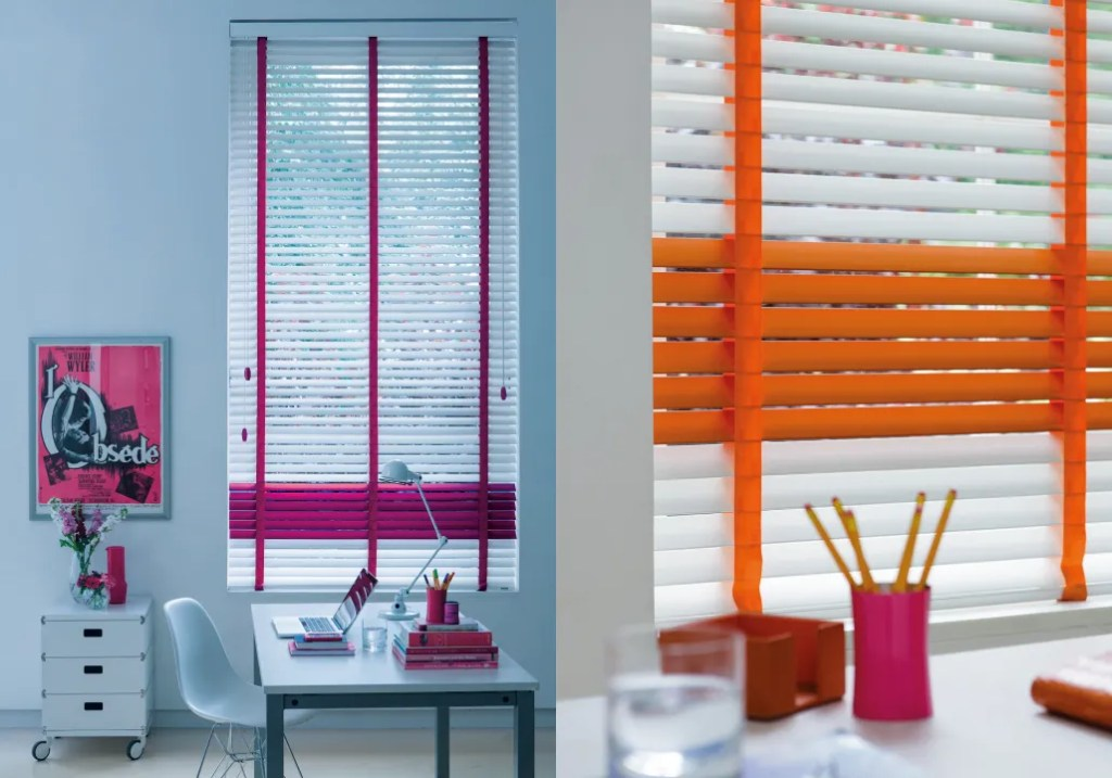 Coloured Blinds