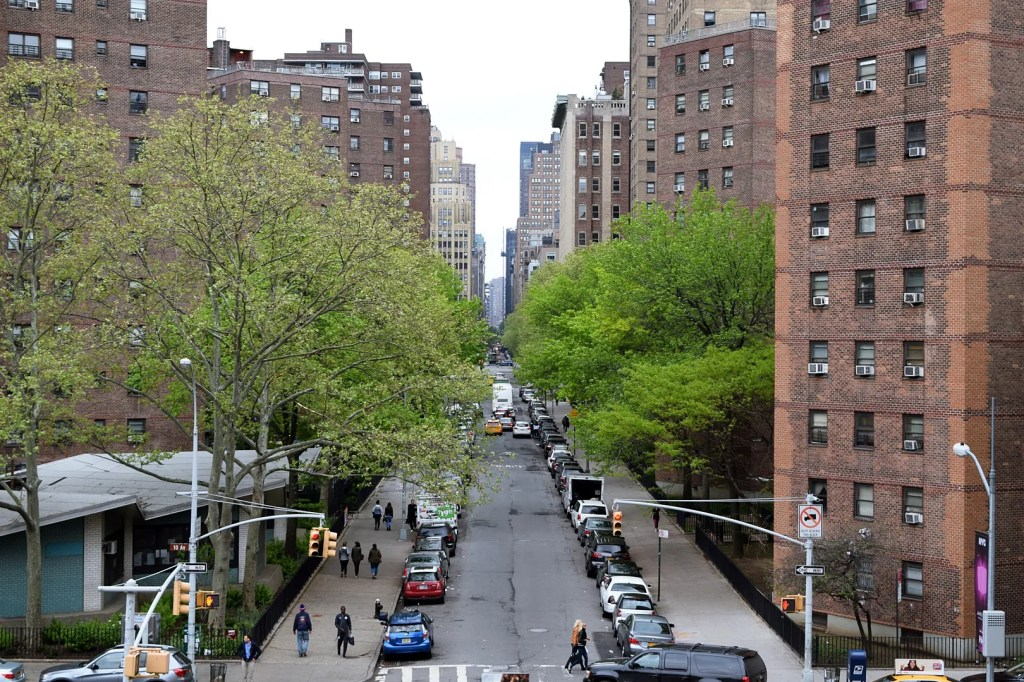 View from the Highline New York