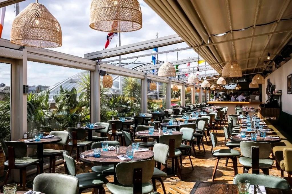Selfridges Roof Restaurant - Best Rooftop Bars London - London Lifestyle Blog The LDN Diaries