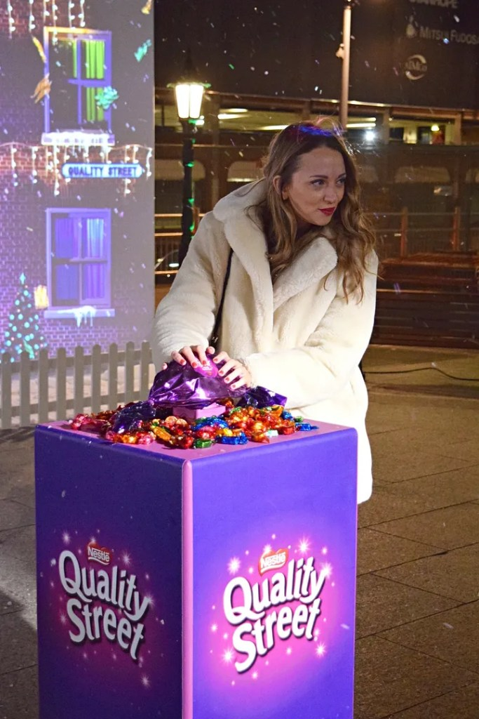 The LDn Diaries Quality Street at Westfield London | UK Lifestyle Blog