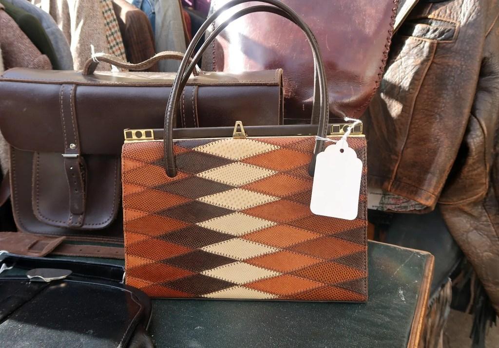 vintage handbag Flea market london