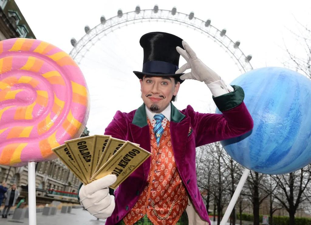 Willy Wonka London Eye Easter