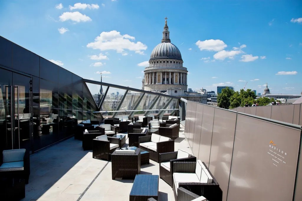 Madison Rooftop Bar - Best Rooftop Bars London - London Lifestyle Blog The LDN Diaries