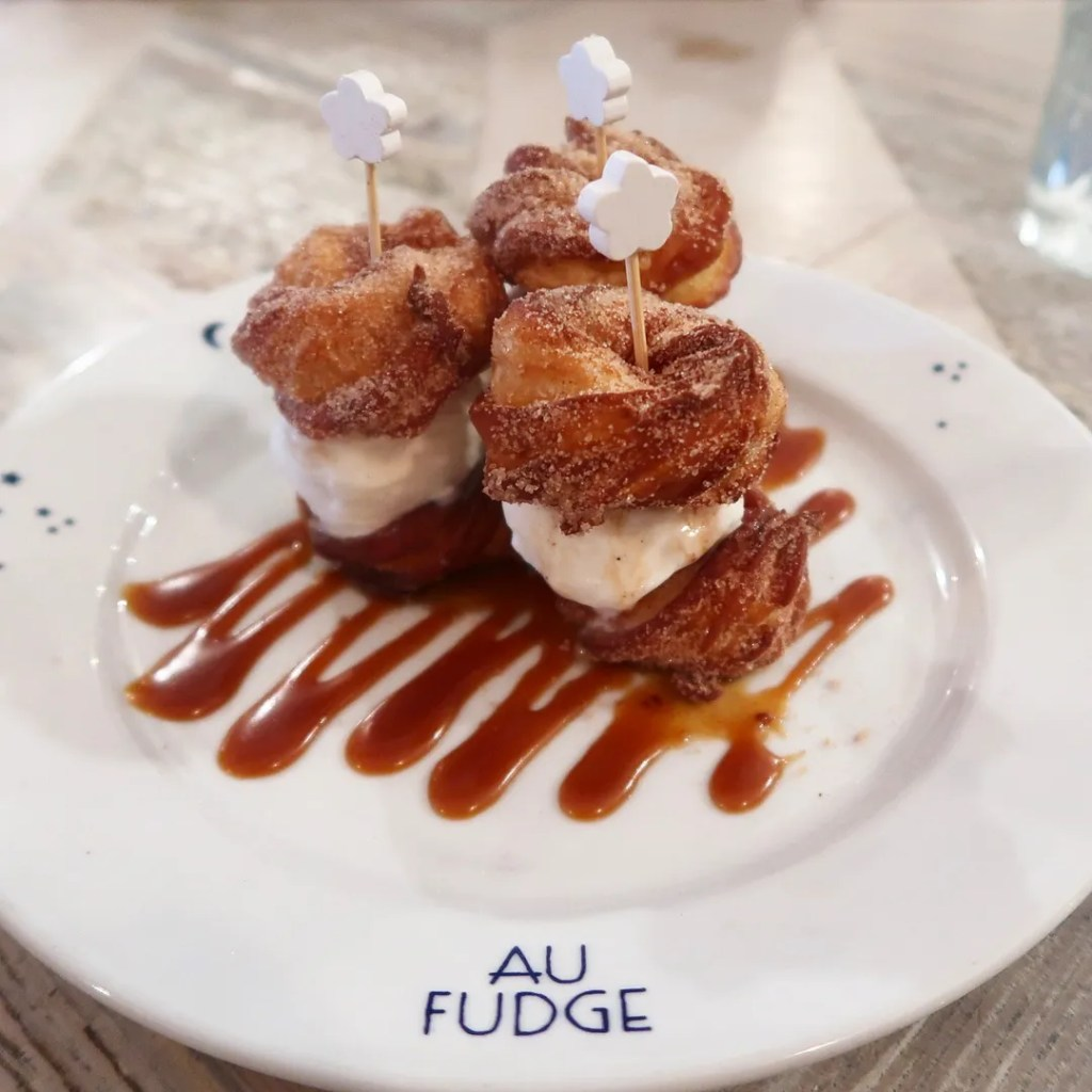 Churro sliders Au Fudge Los Angeles by Jessica Biel