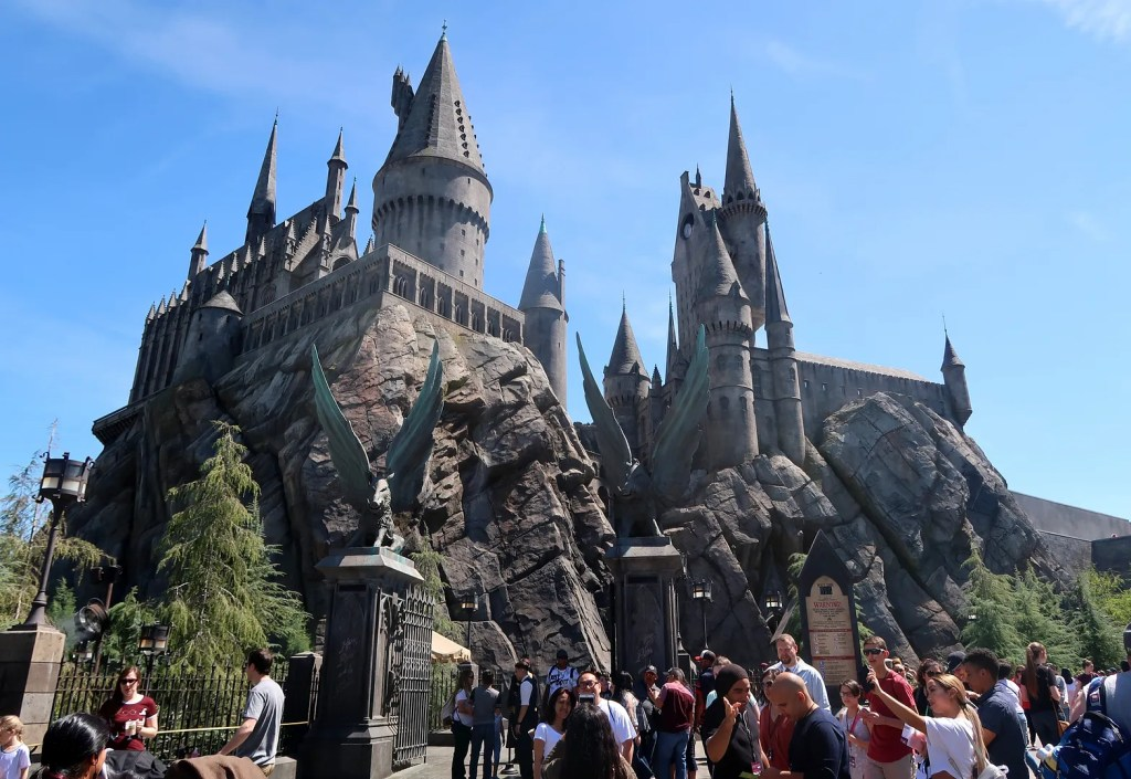 Harry Potter at Universal Studios Los Angeles Hollywood