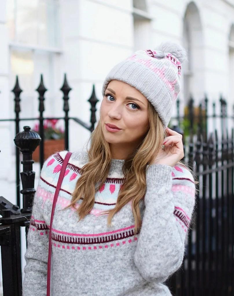 GAP fairisle hat | UK fashion blogger The LDN Diaries