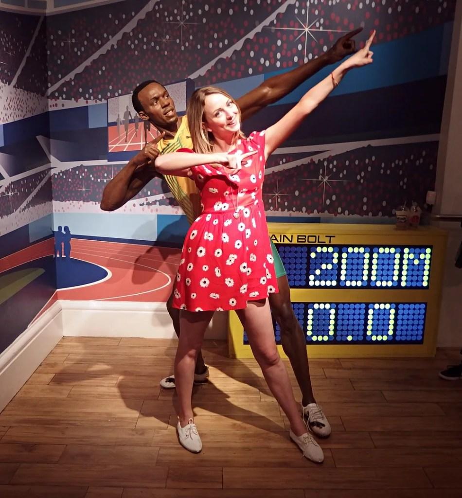 Usain Bolt Madame Tussauds