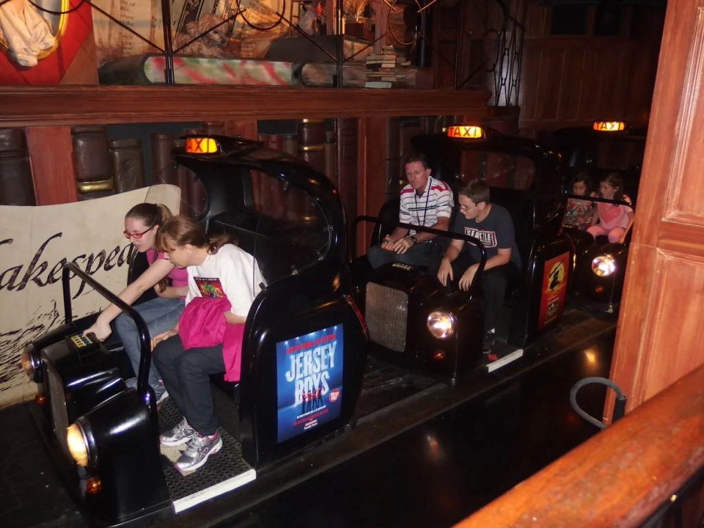 London Taxi Ride at Madame Tussauds