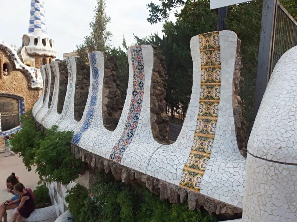 Park Guell Mosaic