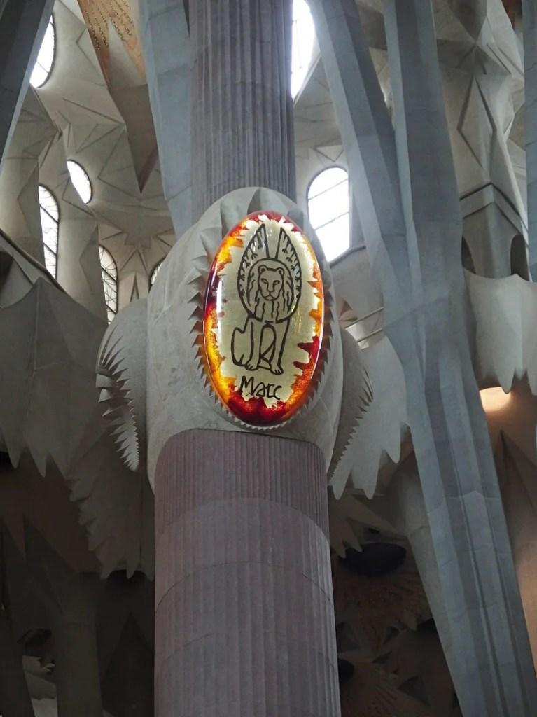 Sagrada Familia Inside Barcelona