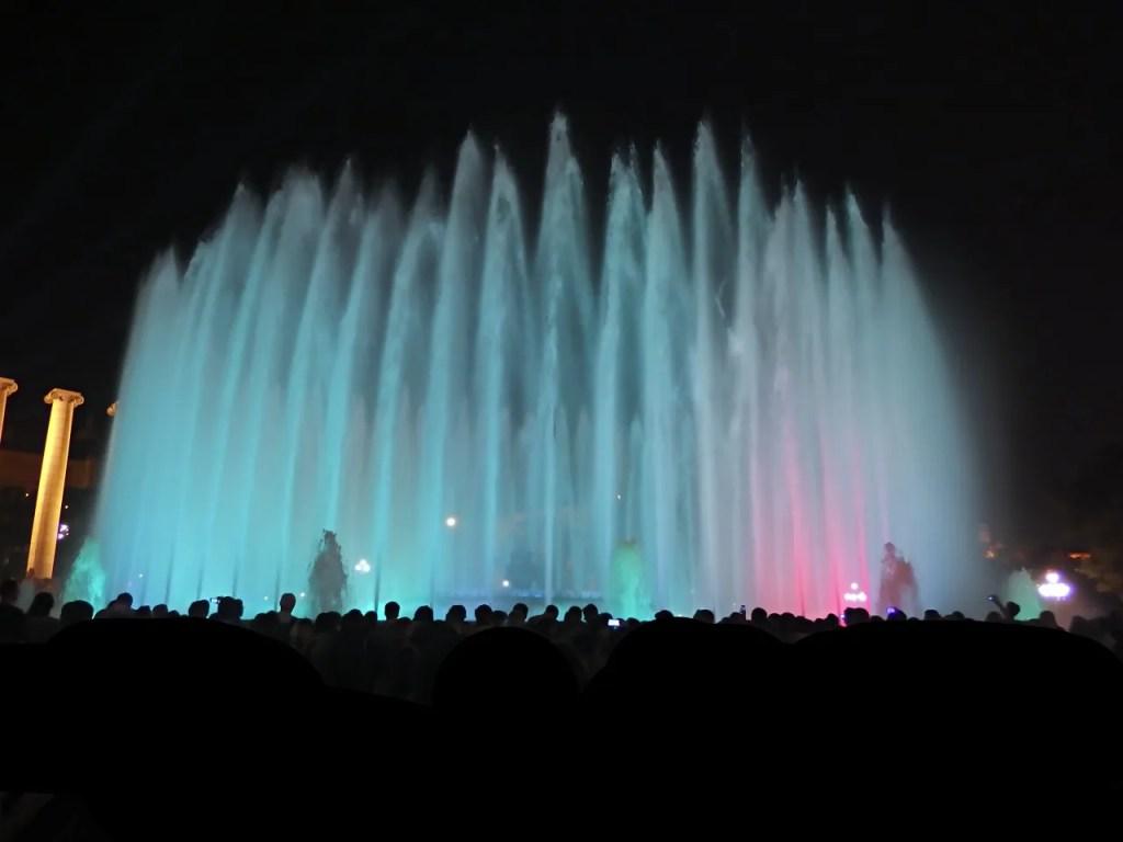 Magic fountains barcelona