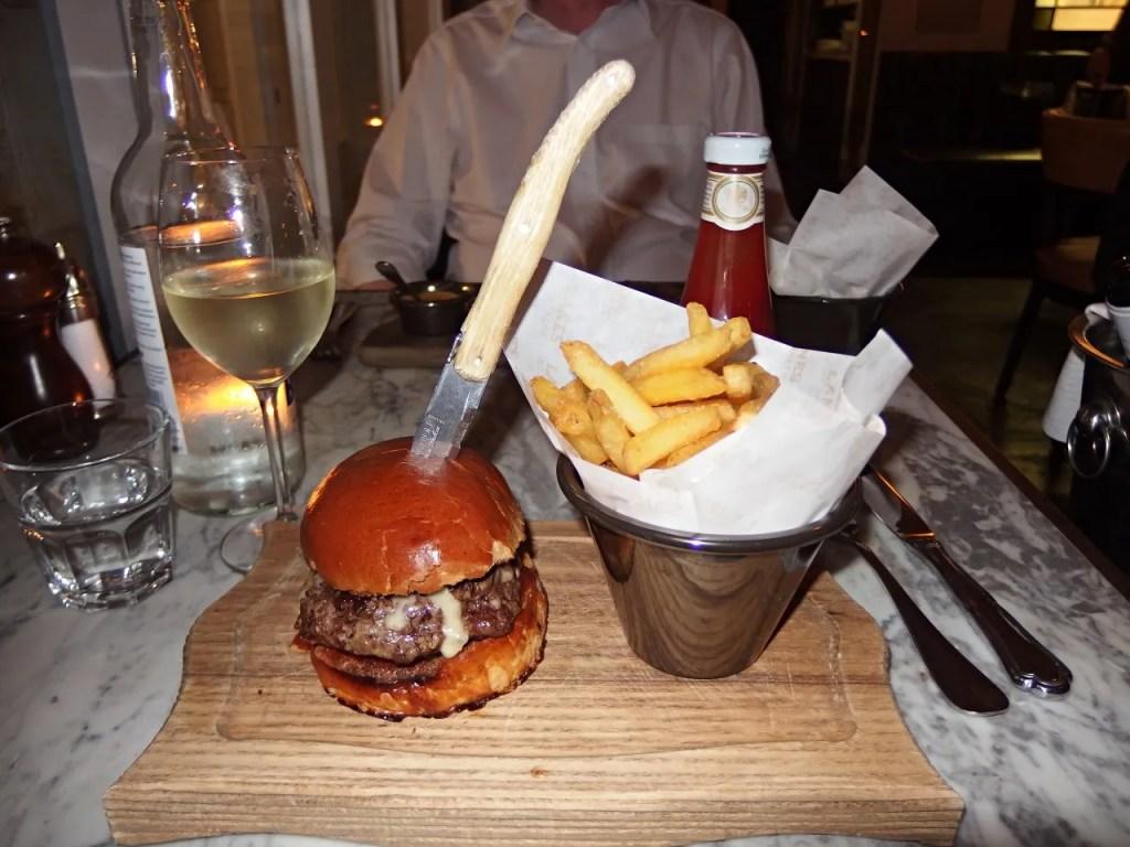Burger & Chips at Lanes of London