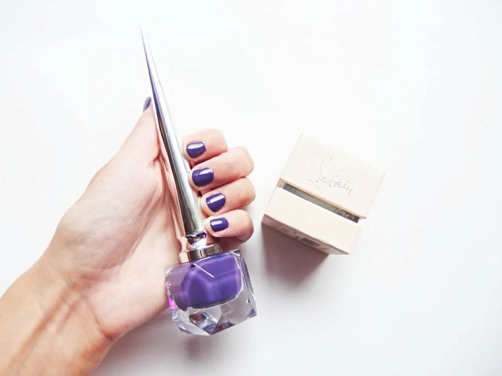 Christian Louboutin Nail Polish Purple Nova