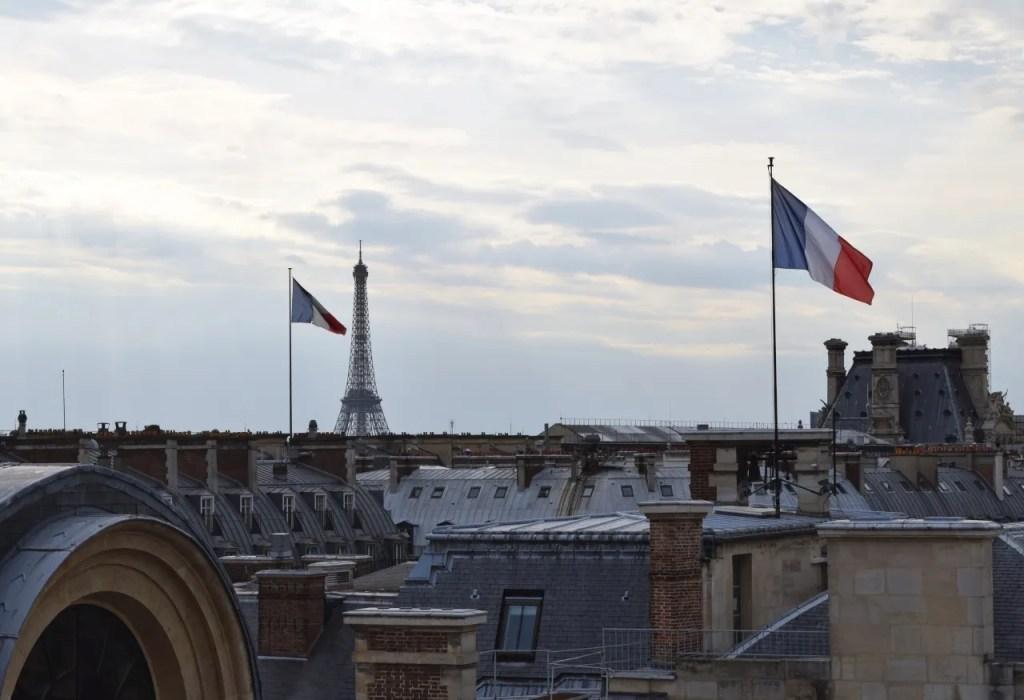 View from Suite Palais Royal at the Grand Hotel du Palais Royal Paris