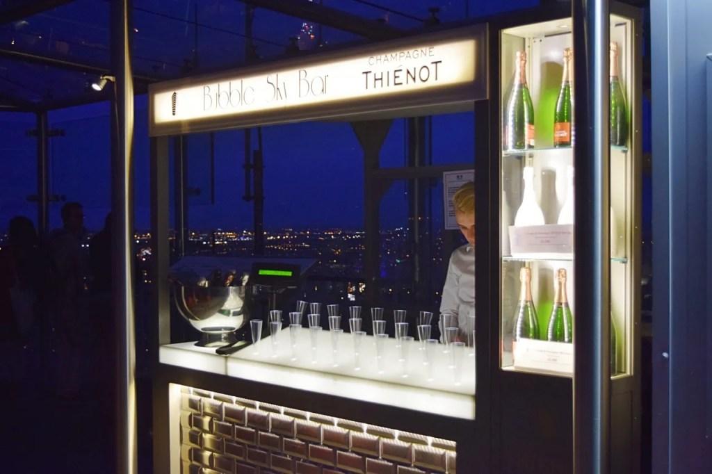 Champagne Bar at Montparnasse Tower