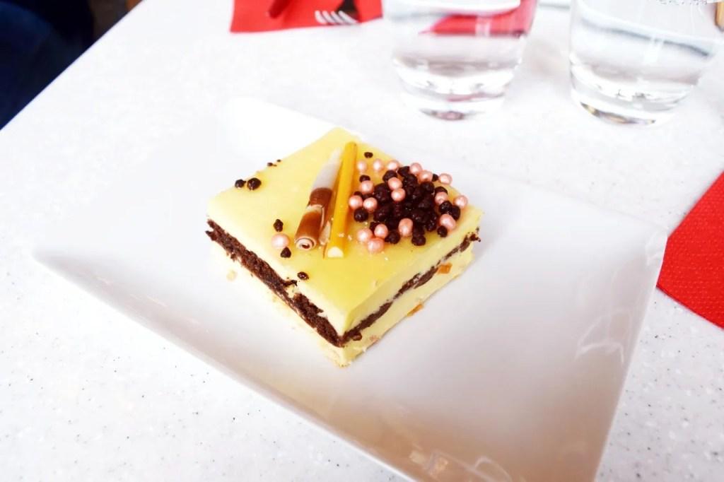 Cake at Musee D'Orsay restaurant