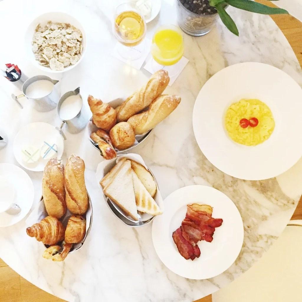 Breakfast at Grand Hotel du Palais Royal