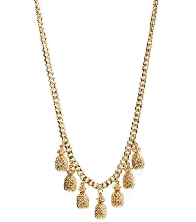 Pineapple necklace Cinderela B