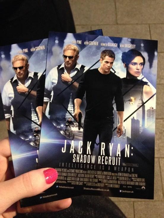 Jack Ryan European Premiere