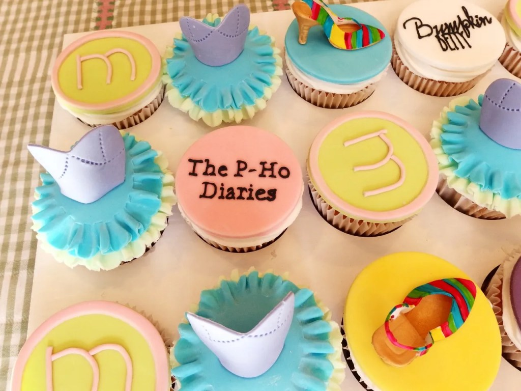 The P-Ho Diaries Cupcakes
