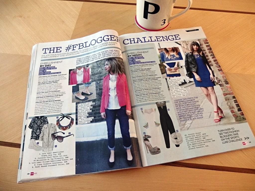 Very Magazine Bloggers Challenge
