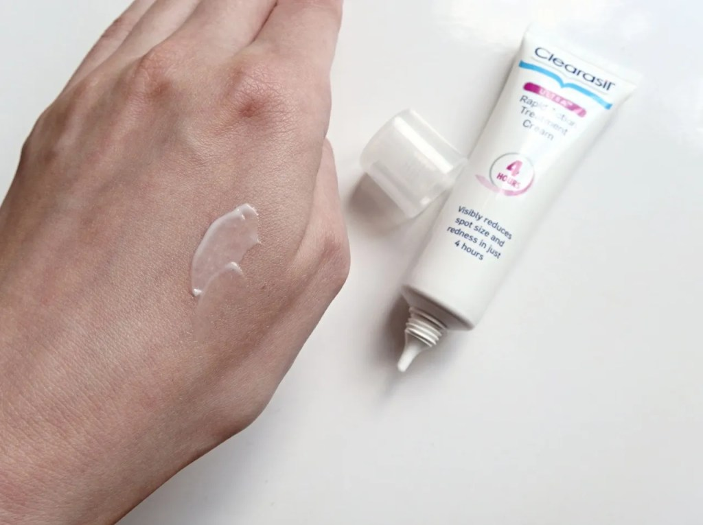 Clearasil Rapid Action Treatment Cream Review
