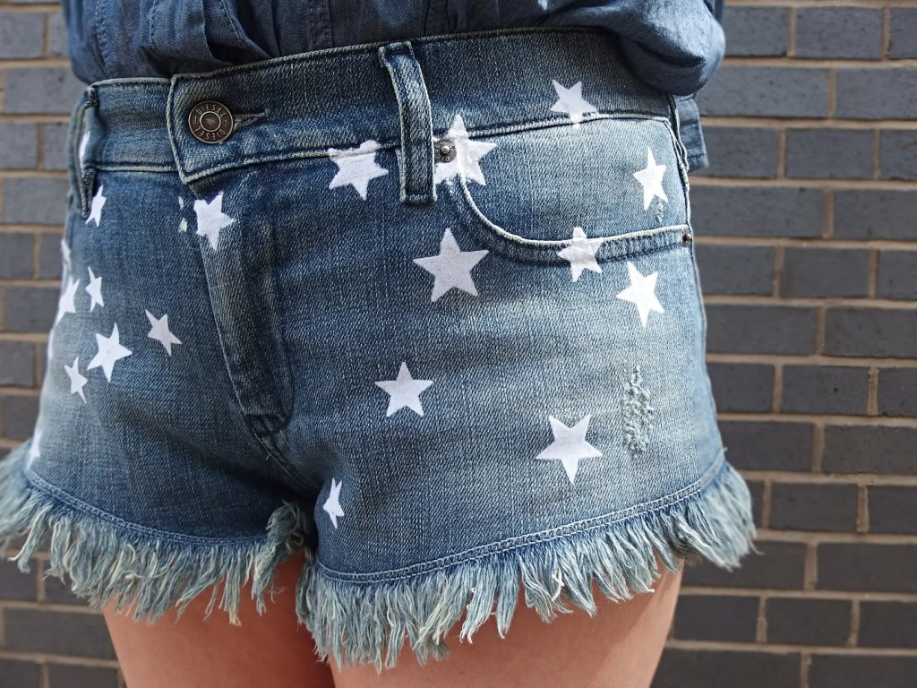 Diesel Denim Star Shorts
