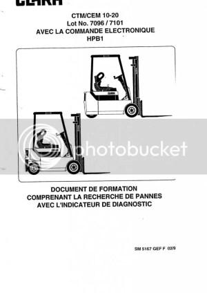 Clark Forklift CTMCEM 1020 Service manual | Auto Repair Manual Forum  Heavy Equipment Forums