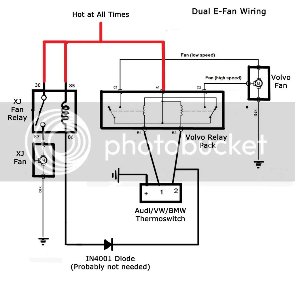 89 Xj Bmw Dual Temp Switch Amp 2 Speed Fan Wiring