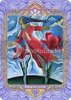 Triple Goddess Tarot | No. 0 | Flying into Spring