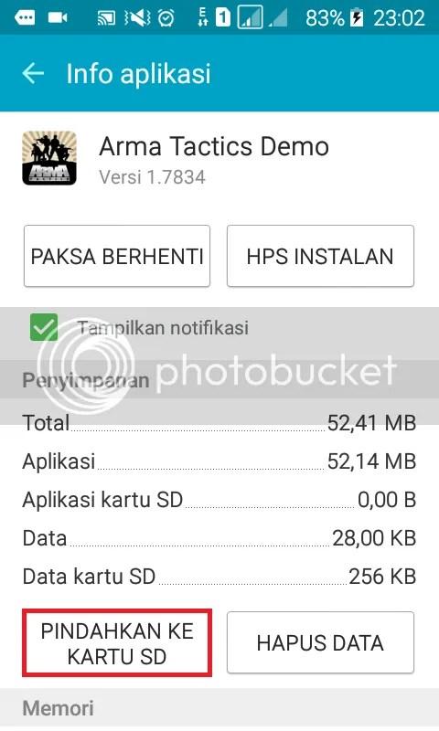 Cara Mudah Pindah Aplikasi Dari Memori Internal ke SD External di Android