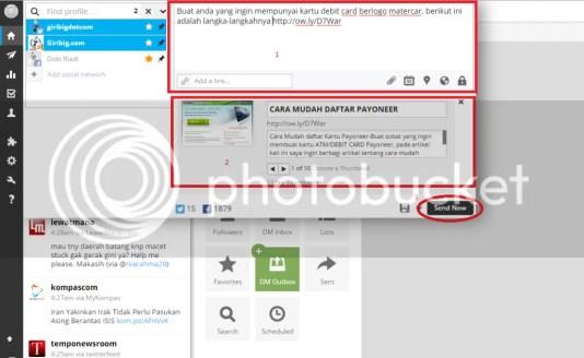 Cara Update Posting Secara Otomatis Pada Twitter, Facebook dan Google plus