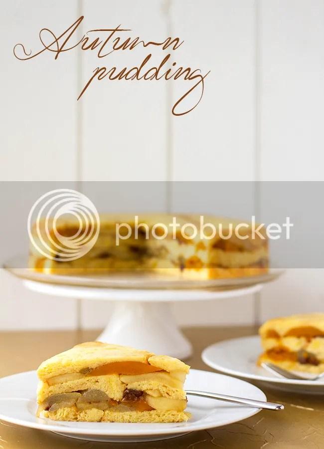 Autumn (Fall) pudding
