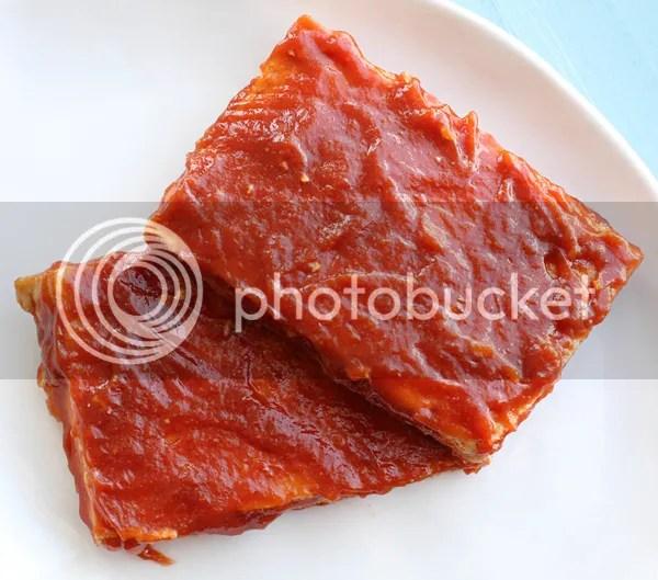 Barbecue marinated tofu steaks